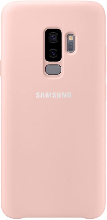 Samsung silikonový zadní kryt pro Samsung Galaxy S9+, růžový