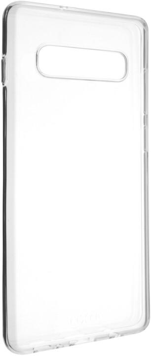 FIXED TPU gelové pouzdro pro Samsung Galaxy S10, čiré