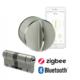 Danalock V3 set – chytrý zámek a cylindrická vložka M&C Color – Bluetooth & Zigbee
