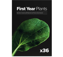 Plantui First Year Plants, 36 kapslí, výběr rostlin na první rok - SE-FYP