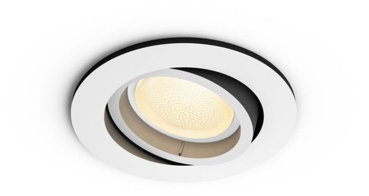 Philips zápustné svítidlo Hue Centura GU10, 7.5W, bílá