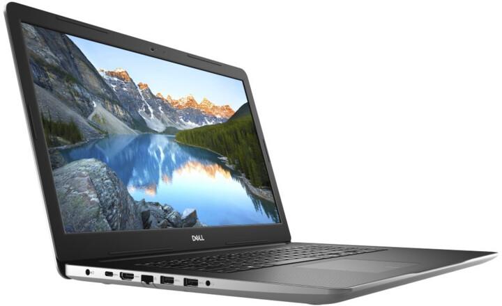 Dell Inspiron 17 (3793), stříbrná