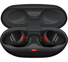 Sony WF-SP800N, černá - WFSP800NB.CE7