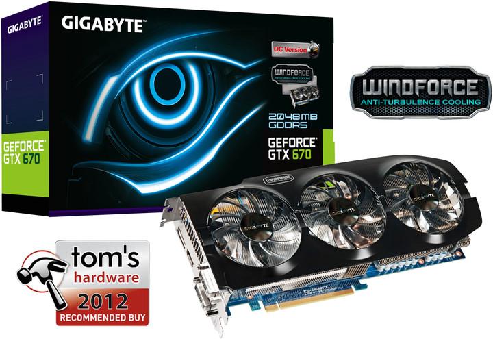 GIGABYTE GTX 670 Ultra Durable OC 2GB