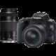 Canon EOS 250D + 18-55mm DC + 75-300mm DC
