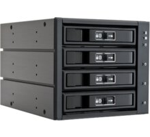 "Chieftec backplane do 5,25"" na 4x SATA/SAS HDDs/SDDs (3,5"" or 2,5"") - CBP-3141SAS"