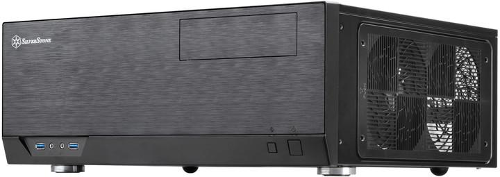 SilverStone GD09B Grandia, černá