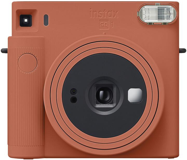 Fujifilm Instax Square SQ1, oranžová