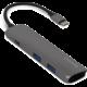 EPICO USB Type-C Hub Multi-Port 4k HDMI - space grey/black  + Voucher až na 3 měsíce HBO GO jako dárek (max 1 ks na objednávku)