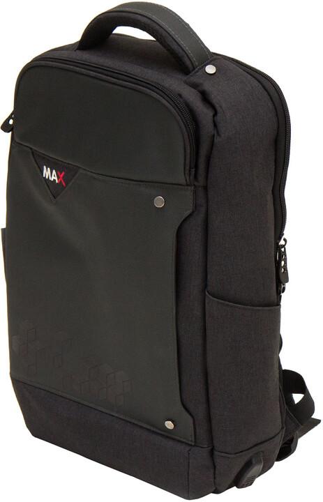 """MAX batoh na notebook 15,6"""", černá"""