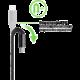 Belkin kabel Premium Kevlar USB-C to USB-C,1,2m, černý