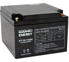 GOOWEI ENERGY OT26-12W - VRLA GEL, 12V, 26Ah