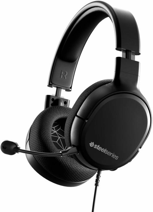 SteelSeries Arctis 1, černá