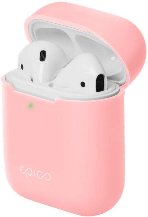 EPICO silikonový pouzdro pro Airpods Gen 2, růžová