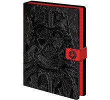 Zápisník Star Wars - Vader Art (A5) - SR72648