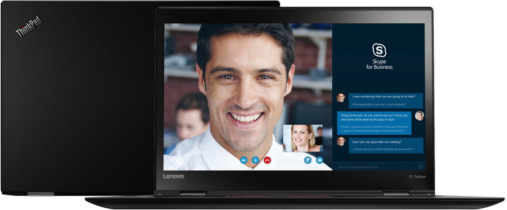 Lenovo ThinkPad X1 Carbon 3, černá