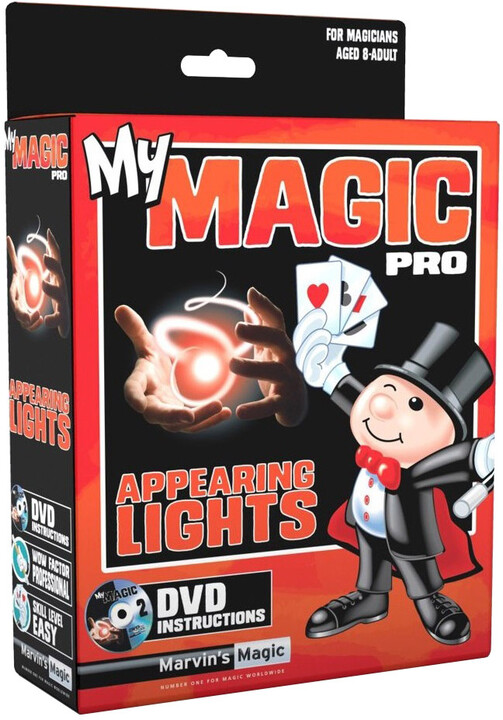 Svítící prsty od MARVIN'S MAGIC