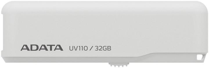 ADATA UV110 32GB, bílá