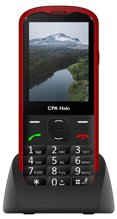 CPA Halo 18 Senior s nabíjecím stojánkem, Red
