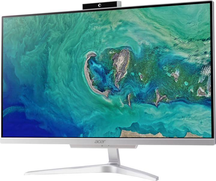 Acer Aspire C 22 (AC22-865), stříbrná