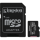 Kingston Micro SDXC Canvas Select Plus 100R 128GB 100MB/s UHS-I + adaptér