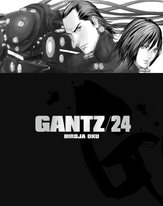 Komiks Gantz, 24.díl, manga