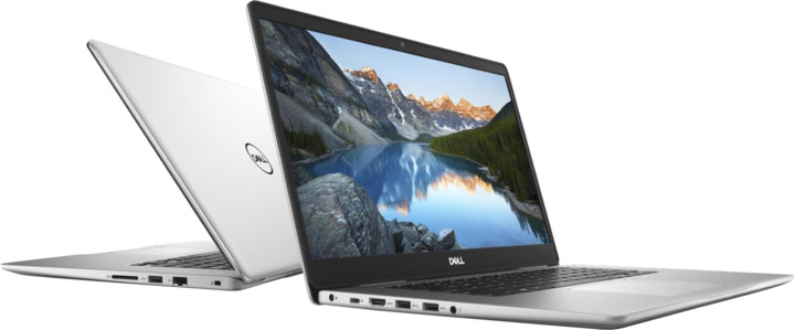 Dell Inspiron 15 (7580), stříbrná
