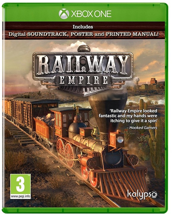 Railway Empire - Day One Edition (Xbox ONE)