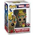 Figurka Funko POP! Guardians of the Galaxy - Holiday Groot Glow in the Dark