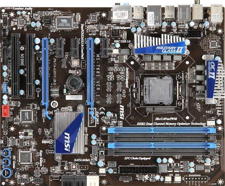 MSI P67A-GD55 (B3) - Intel P67