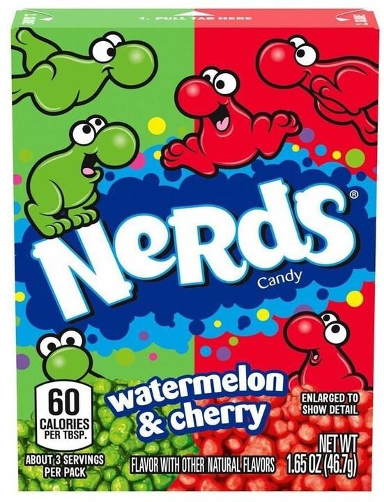 Wonka Watermelon & Cherry Nerds 46,7 g