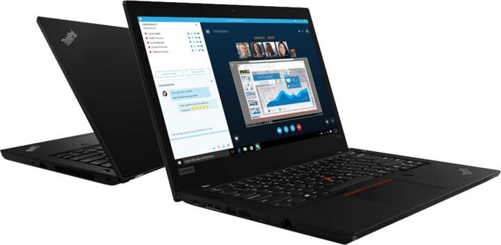 Lenovo ThinkPad L490, černá
