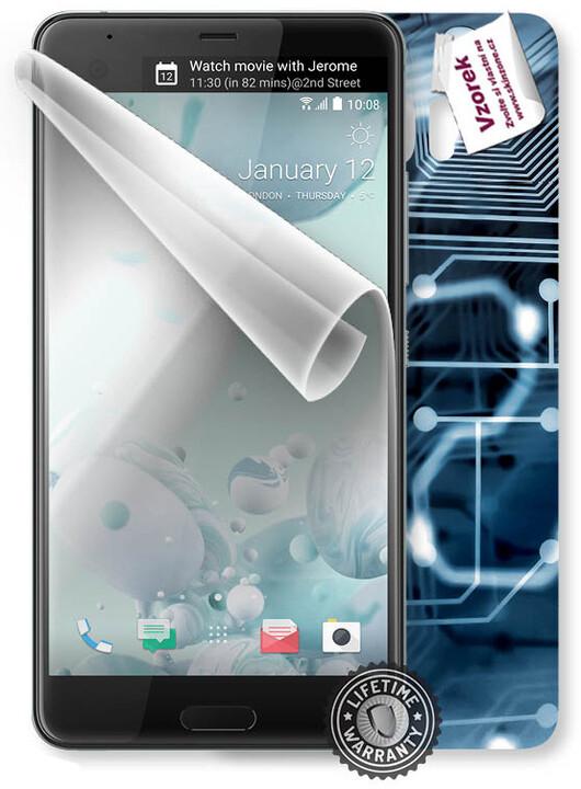 ScreenShield fólie na displej + skin voucher (vč. popl. za dopr.) pro HTC U Ultra