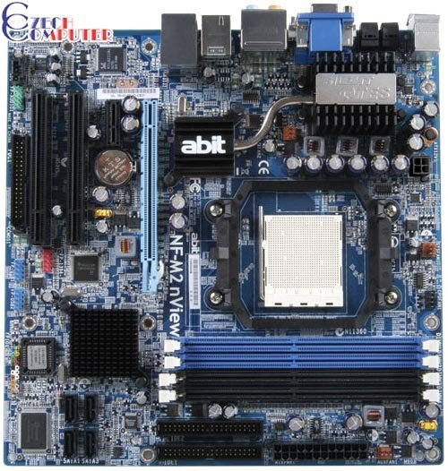 Abit NF-M2 nView - nVidia nForce 430