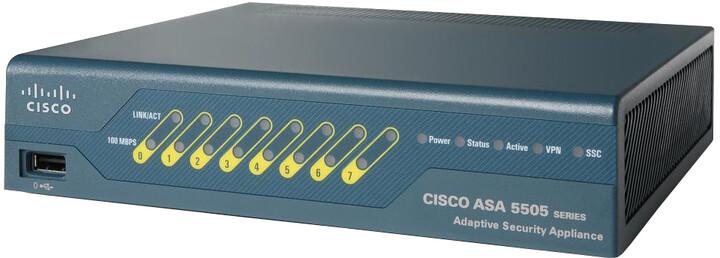 Cisco ASA 5505-UL Firewall Edition bundle, bezpečnostní zařízení
