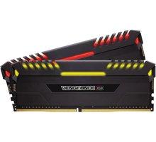 Corsair Vengeance RGB LED 16GB (2x8GB) DDR4 3466, černá