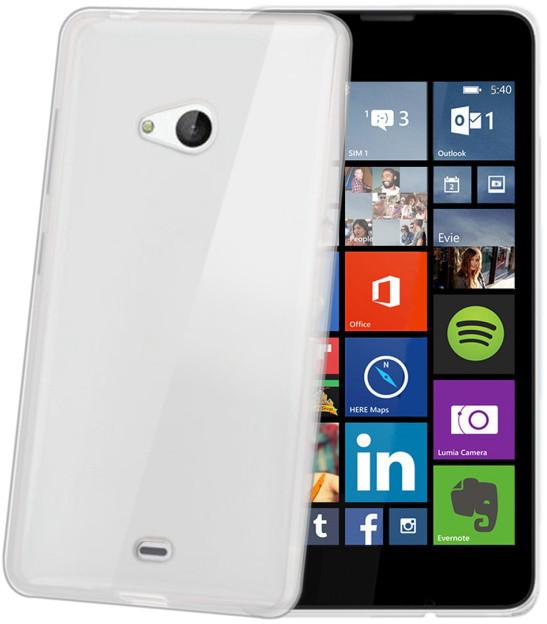 CELLY Gelskin pouzdro pro Microsoft Lumia 540 / 540 Dual SIM, bezbarvá