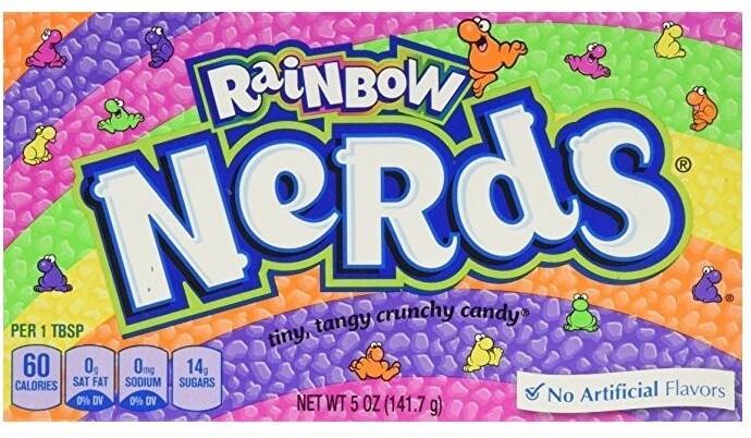Wonka Rainbow Nerds 141,7 g