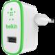 Belkin micro nabíječka 230V/5V, 2,4A, bílá