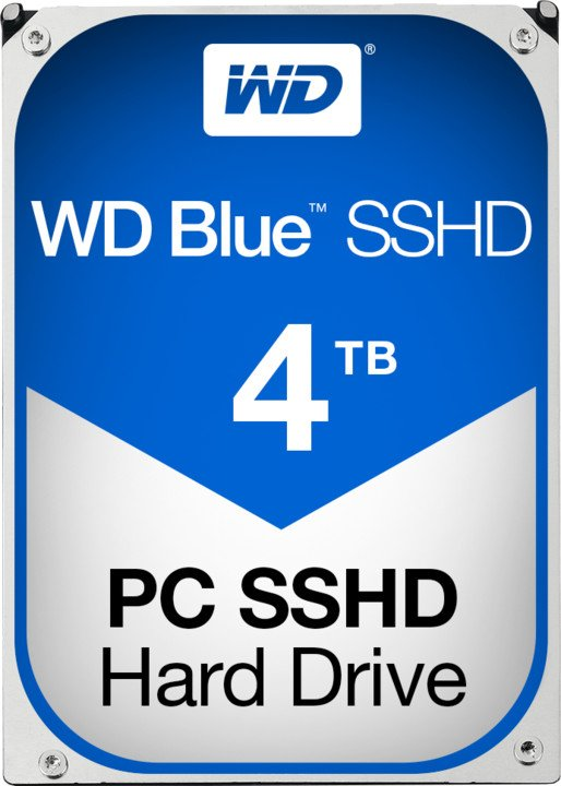 WD Blue SSHD - 4TB