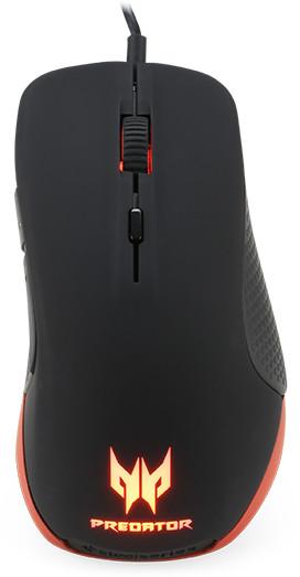 Acer Predator Gaming Mouse by SteelSeries, černá