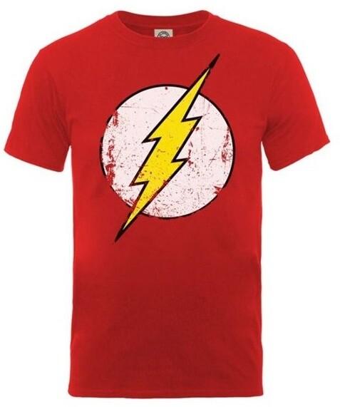 Tričko DC Originals - Flash Distressed Logo, dámské (XL)