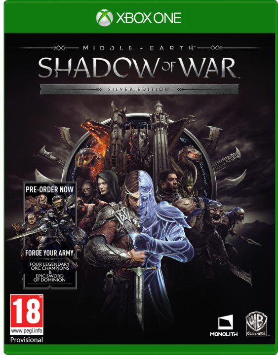 Middle-Earth: Shadow of War - Silver Edition (Xbox ONE)