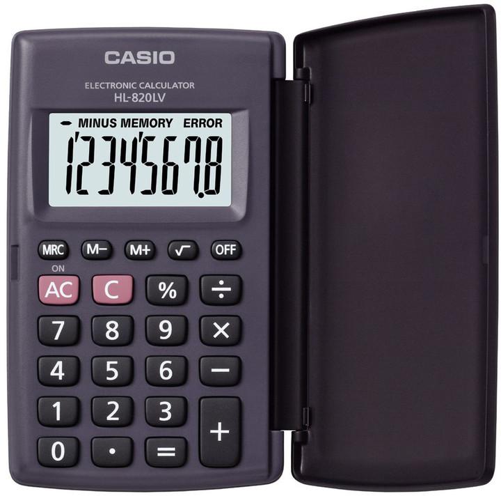Casio HL 820LV černá