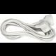 Sencor prodlužovací přívod, 1 zásuvka, 1.5m, bílá