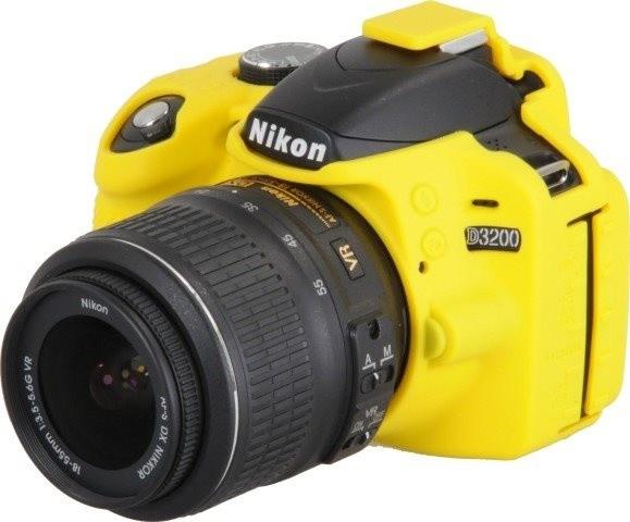 Easy Cover silikonový obal pro Nikon D3200, žlutá