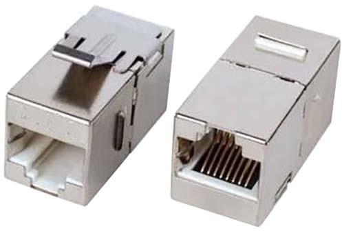 PremiumCord Propojka RJ45 CAT6 8/8 STP, vhodná do patch panelu místo keystone