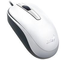 Genius DX-120, USB, bílá - 31010105107