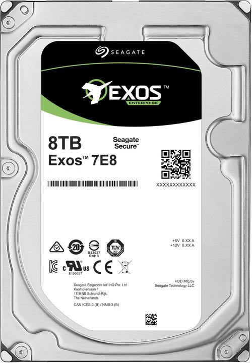 """Seagate Exos 7E8, 3,5"""" - 8TB"""