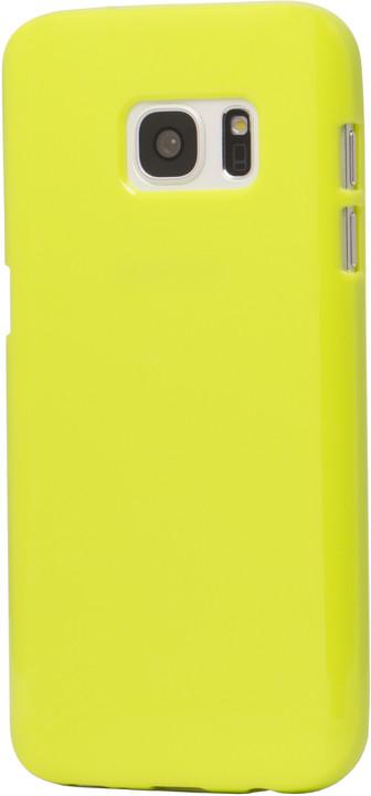 EPICO plastový kryt pro Samsung Galaxy S7 SPARKLING - zelený